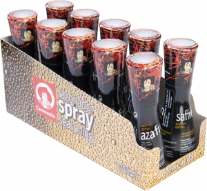 4 x 10 x 40g Triseleca Saffron Seasoning Spray