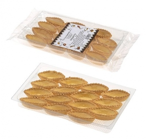 18 x 15pz Small Boat Pastry Shells