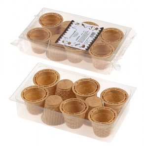 12 x 9 pz Cone Cups (Baskets) Retail Pack
