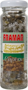 12 x 100g Framar Salted Capers (6-7mm)