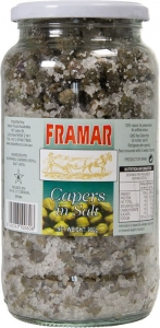 6 x 1kg Framar Capers Fine Salted