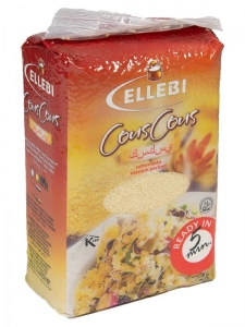 12 x 900g Ellebi CousCous Vacuum Packed