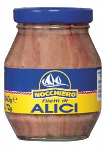 12 x 140g Nocchiero Anchovy Fillets