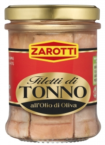 6 x 200 gr Italian Tuna in Olive Oil Zarotti