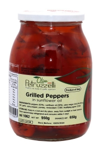 6 x 1062ml Grilled Peppers in Oil