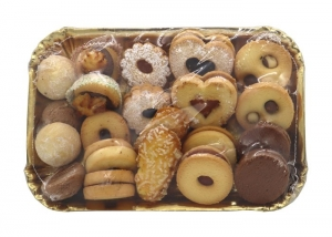 6 x 500g Don Carlo Mixed Tray Biscuits